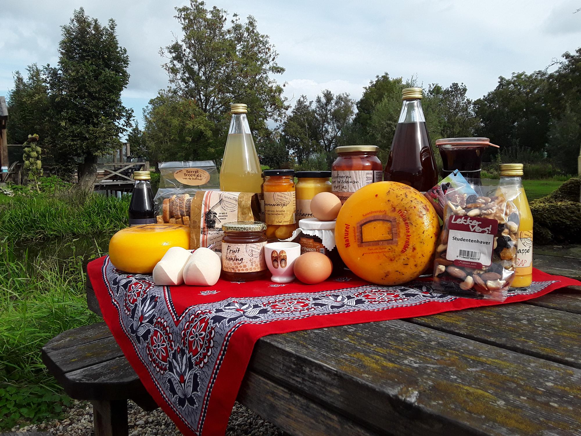 landwinkel lopikerwaard picknick streekprodukten streekproducten