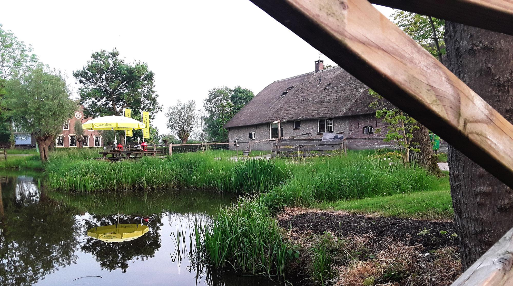 picknickplaats fietsroute rust polsbroek landwinkel kaas maken