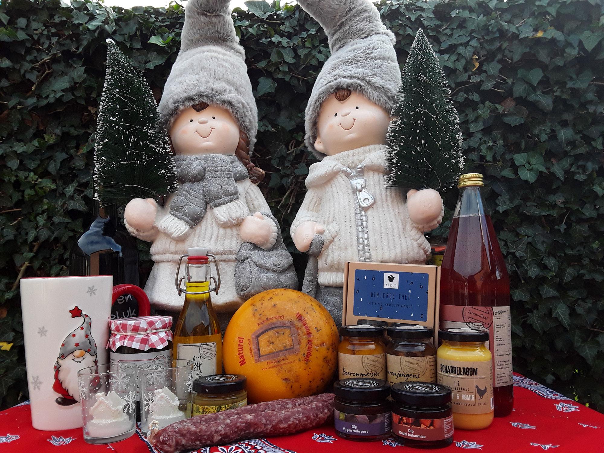 kerstfoto noorzijde landwinkel